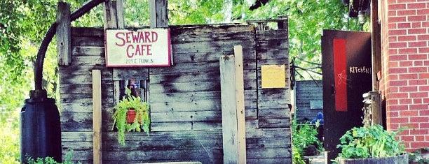 Seward Community Cafe is one of The 15 Best Vegetarian and Vegan Restaurants in Minneapolis.