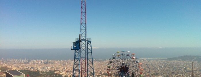 Tibidabo is one of I love Barcelona!.