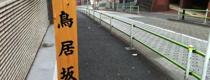 鳥居坂 is one of 坂道.