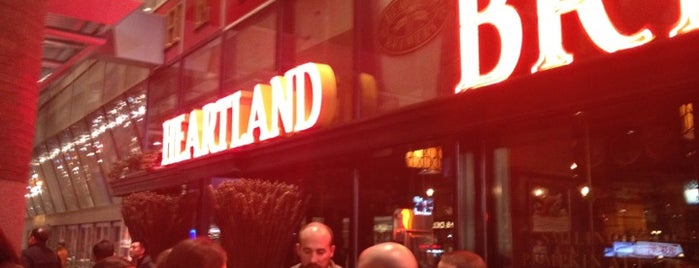 Heartland Brewery is one of Hell's Kitchen to do.