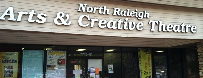 North Raleigh Arts and Creative Theatre (NRACT) is one of Triangle Theatres.