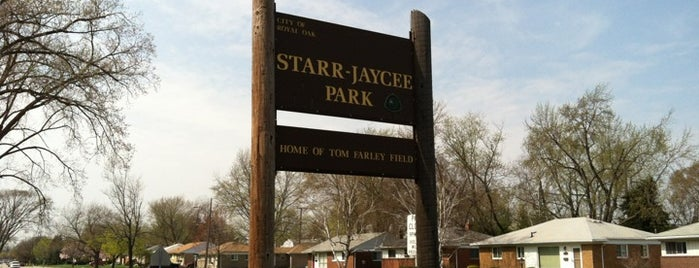 Starr Jaycee Park is one of I did that already.