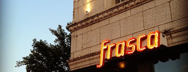 Frasca Pizzeria & Wine Bar is one of Cracken's Matchbook Collection.