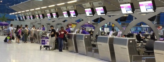 Aeroporto Suvarnabhumi (BKK) is one of Free WiFi Airports.