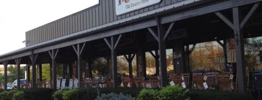 Cracker Barrel Old Country Store is one of Top 10 dinner spots in Manchester, TN.