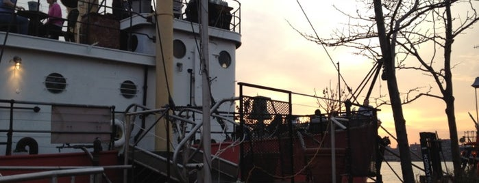 Lightship Frying Pan @ Pier 66 Maritime is one of Green Drinks NYC event venues!.