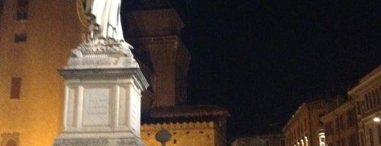 Piazza Savonarola is one of Ferrara.