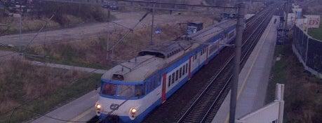 Železniční zastávka Praha-Horní Měcholupy is one of Železniční stanice ČR: P (9/14).