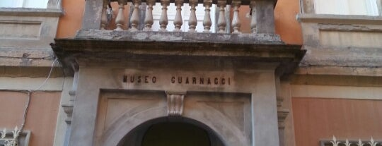 Museo Etrusco Guarnacci is one of #invasionidigitali 2013.