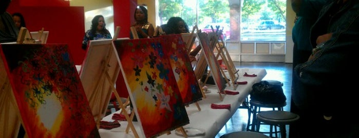 Painting With A Twist is one of Fun Go-to-Spots.