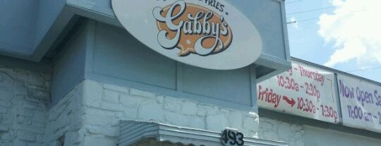 Gabby's Burgers & Fries is one of Nashville and Franklin.