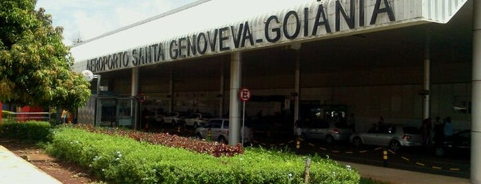 Goiânia Airport (GYN) is one of A local's guide: 48 hours in Goiânia, Brasil.