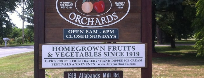 Fifer Orchards Farm and Country Store is one of Home Town.