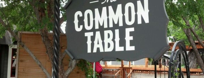 The Common Table is one of Dallas.