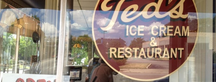 Ted's Ice Cream & Restaurant is one of Grab a Bite NOW food reviews.