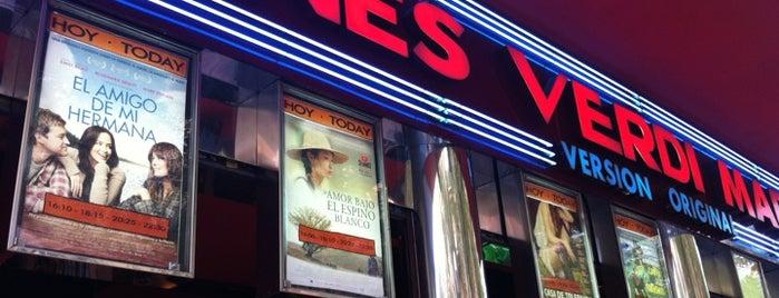 Cines Verdi is one of Madrid.