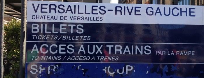 RER Versailles Château – Rive Gauche [C] is one of Paris, FR.