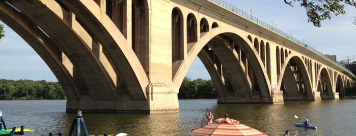 Key Bridge Boathouse is one of Travel Channel Food Badges.