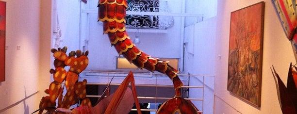 Salón de la Plástica Mexicana is one of Galerías y Museos @ DF.