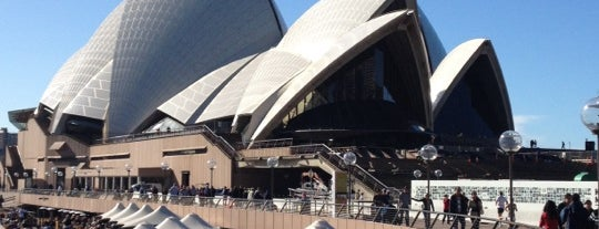 Sydney Opera House Forecourt is one of Around The World: SW Pacific.