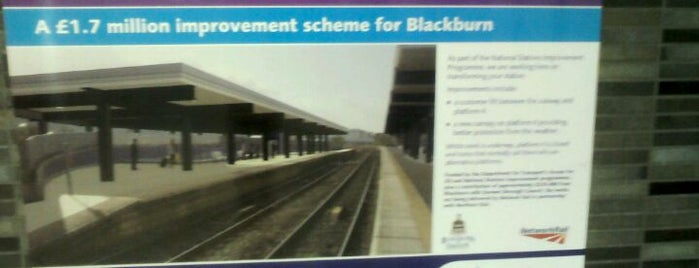 Blackburn Railway Station (BBN) is one of Railway Stations in UK.