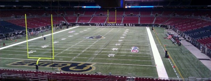 The Dome at America's Center is one of Great Sport Locations Across United States.