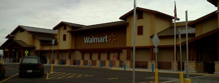 Walmart Supercenter is one of My Saved Places.
