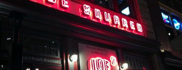 Joe Squared is one of Triple D Restaurants.