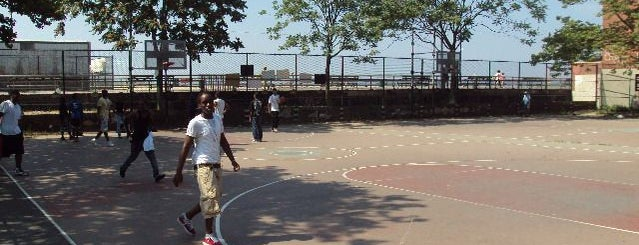 Brighton Playground is one of Popular Basketball Courts in NYC Parks.