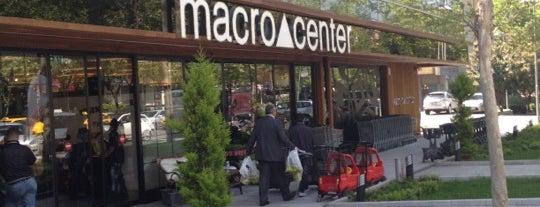 Macrocenter is one of En iyi yerler ve en özel yemekleri.