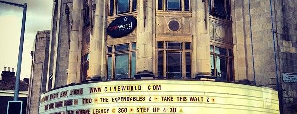 Cineworld is one of Cinemas.
