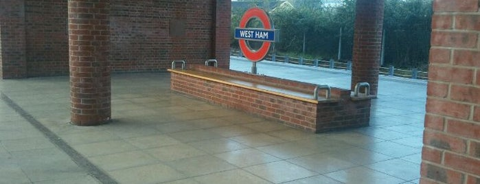 West Ham Railway Station (WEH) is one of Railway Stations in UK.