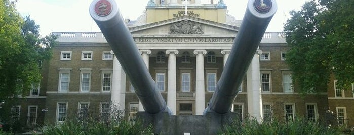 Imperial War Museum is one of Hand Drawn Map of London.