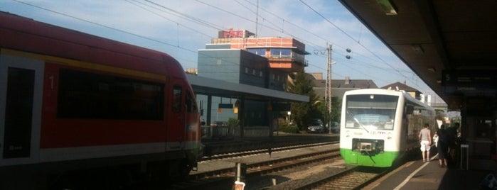 Schweinfurt Hauptbahnhof is one of Bahnhöfe Deutschland.
