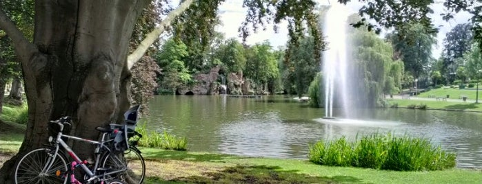Parc de l'Orangerie is one of Parcs et jardins d'Alsace.
