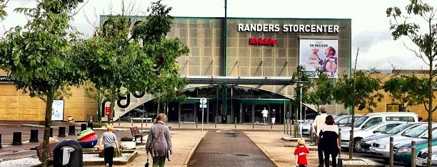 Randers Storcenter is one of Most visited.