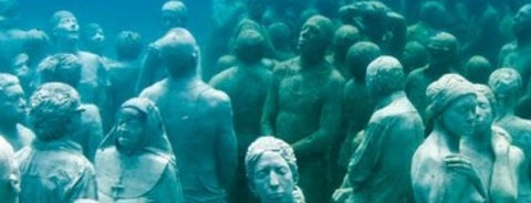 MUSA Underwater Museum is one of Mexico // Cancun.