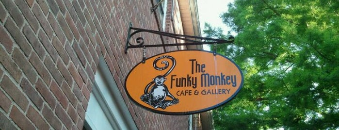 The Funky Monkey is one of CT Food to Try (casual).
