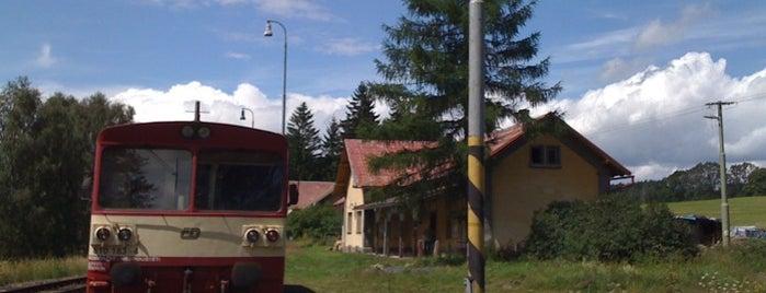 Železniční stanice Panský is one of Železniční stanice ČR: P (9/14).