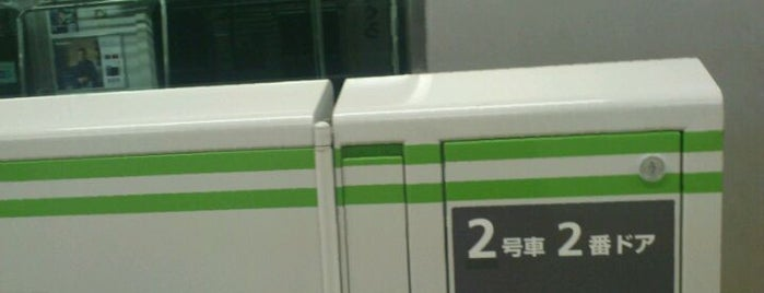 Meguro Station is one of 山手線.