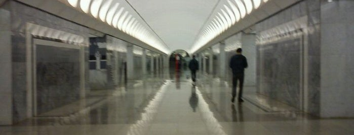 metro Dostoyevskaya is one of Complete list of Moscow subway stations.
