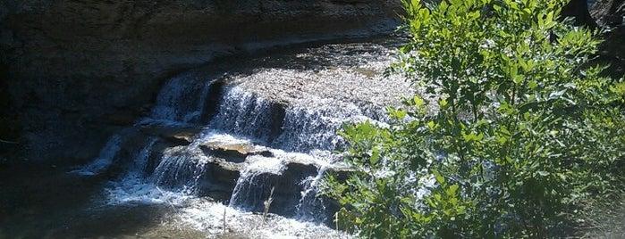 Chalk Ridge Falls Park is one of Temple....