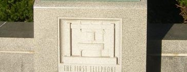 First Telephone Plaque is one of Must See Boston.