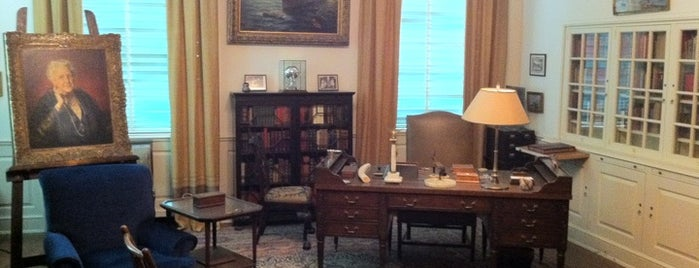 Franklin D. Roosevelt Presidential Library & Museum is one of Mr. President, Mr. President....