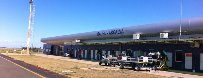 Aeroporto de Bauru - Arealva / Moussa Nakhl Tobias (JTC) is one of Aeroportos do Brasil.