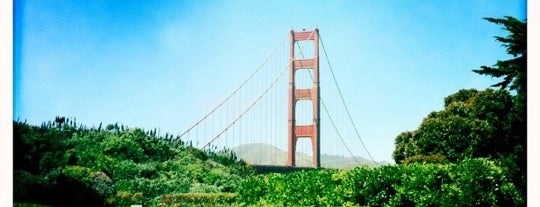 Golden Gate Bridge is one of Bay Area Places to See and Eat.