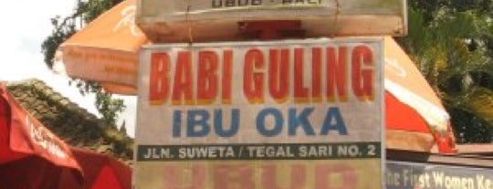 Babi Guling Ibu Oka 1 is one of Bali Culinary.
