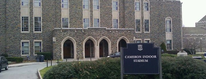 Cameron Indoor Stadium is one of Sports Venues I've Worked At.