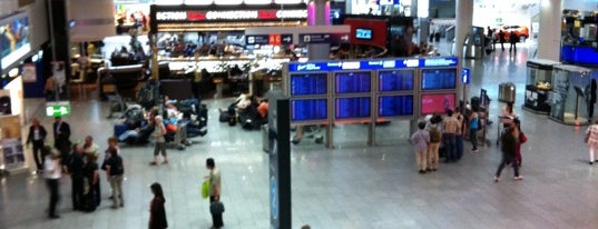 Terminal 1 is one of Airports.