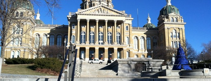 Iowa State Capitol Building is one of The Crowe Footsteps.